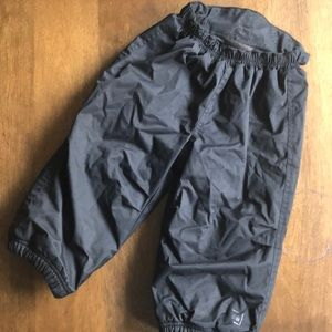 REI fleece lined elastic waist snow pants 18-24m